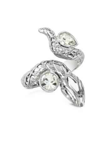 Silver Snake Women's Ring