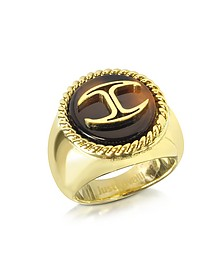 Gold Plated Women's Ring - Just Cavalli