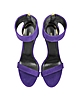 Evening Purple Suede Sandal - Roberto Cavalli / ロベルト カヴァリ