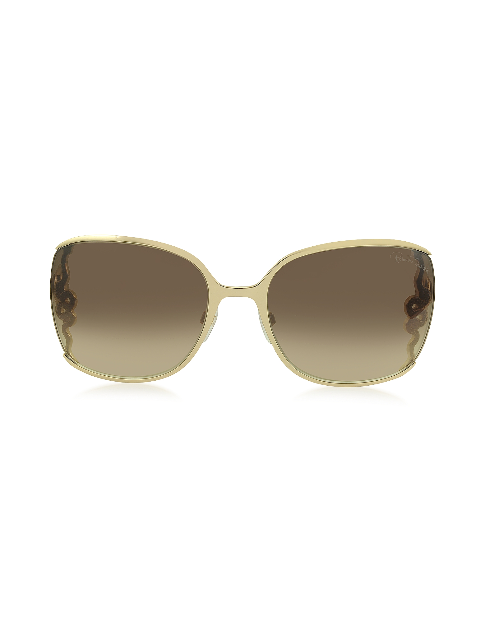 Roberto Cavalli Sunglasses, WASAT 1012 Metal Square Oversized Women's Sunglasses