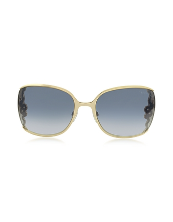 Roberto Cavalli - WASAT 1012 Metal Square Oversized Women's Sunglasses