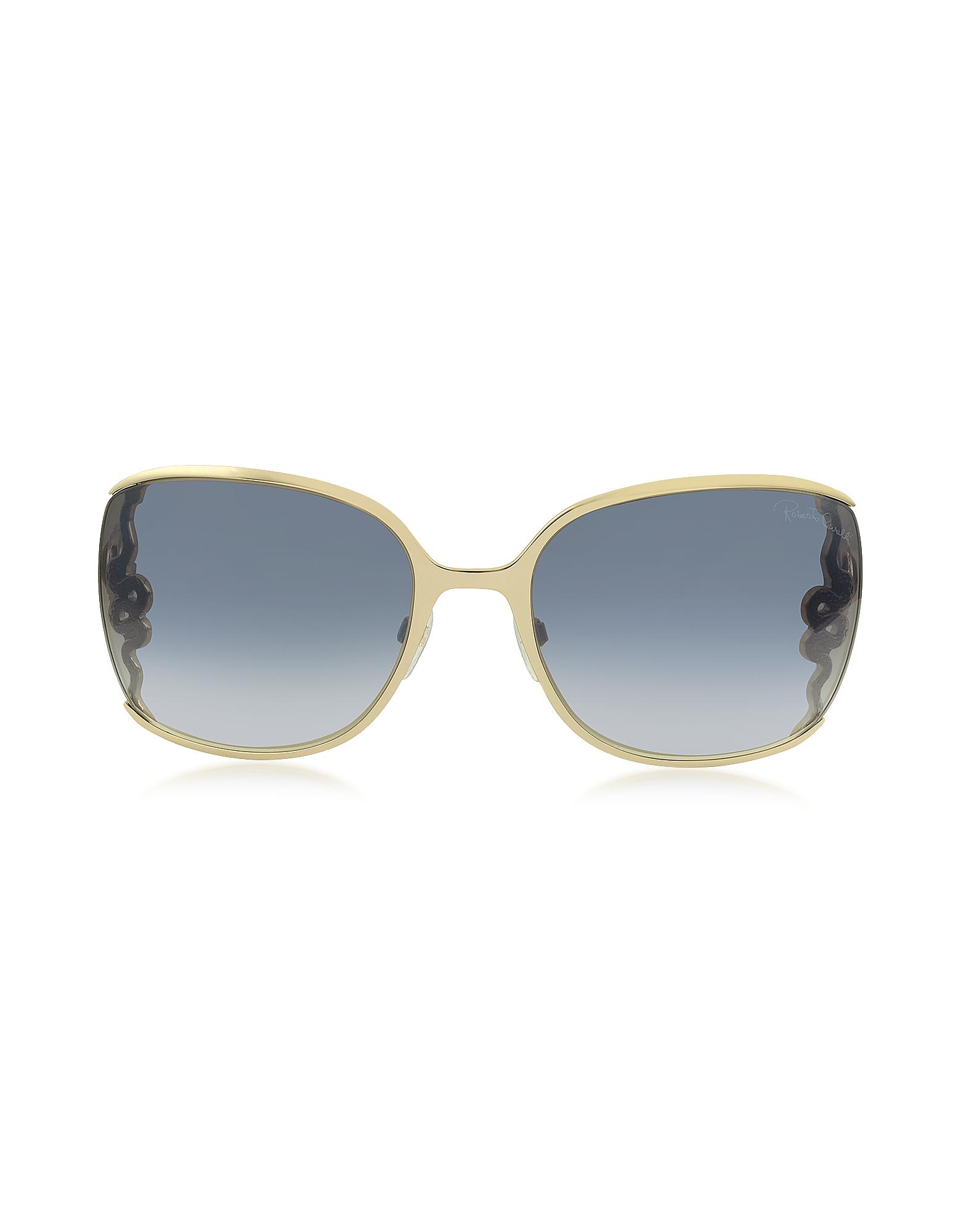 Roberto Cavalli Sunglasses, WASAT 1012 Metal Square Oversized Women's Sunglasses