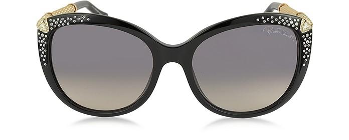 TANIA 979S Acetate and Crystals Women's Sunglasses - Roberto Cavalli