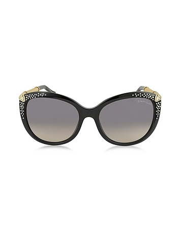 Roberto Cavalli - TANIA 979S Acetate and Crystals Women's Sunglasses