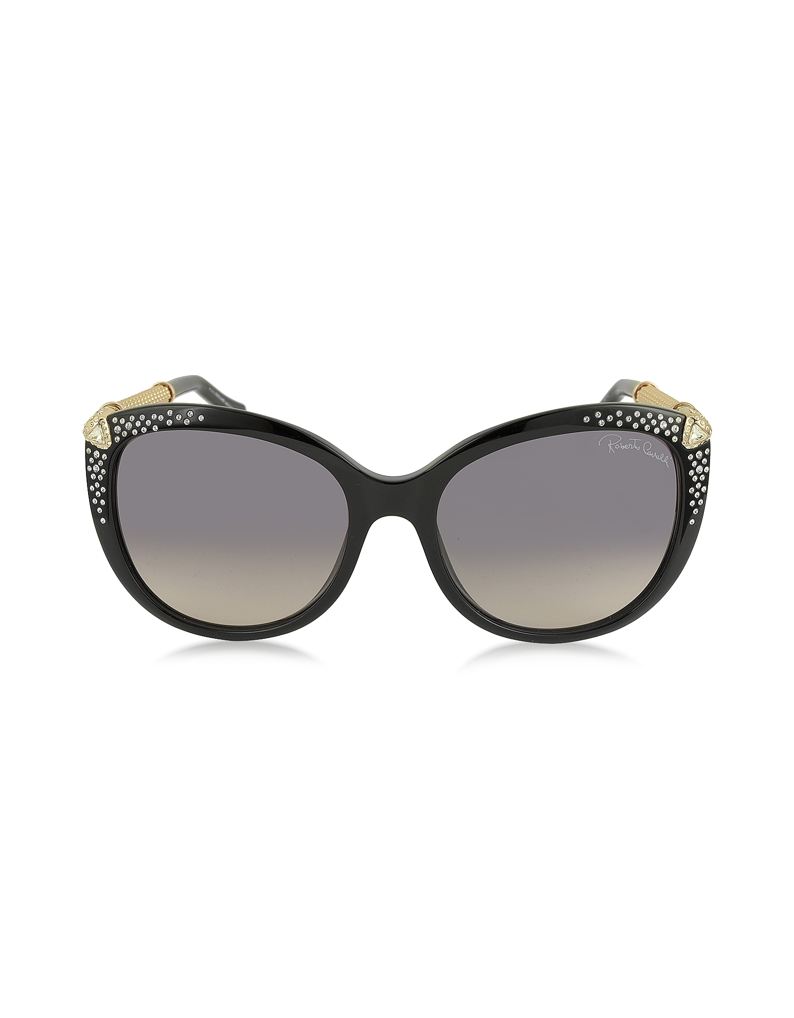 Фото TANIA 979S - Женские Солнечные Очки из Ацетата с Кристаллами. Купить с доставкой