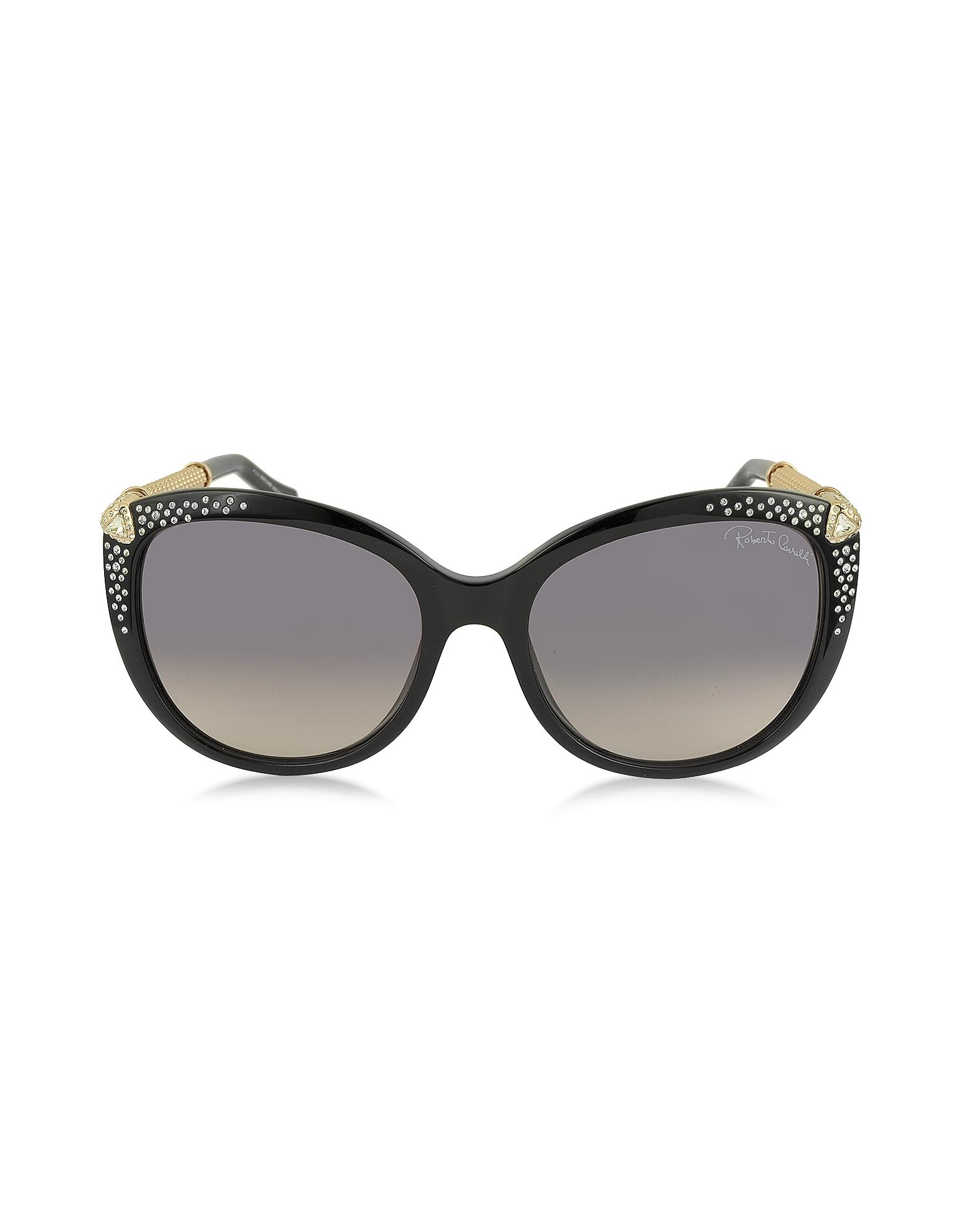 Roberto Cavalli Sunglasses, TANIA 979S Acetate and Crystals Women's Sunglasses