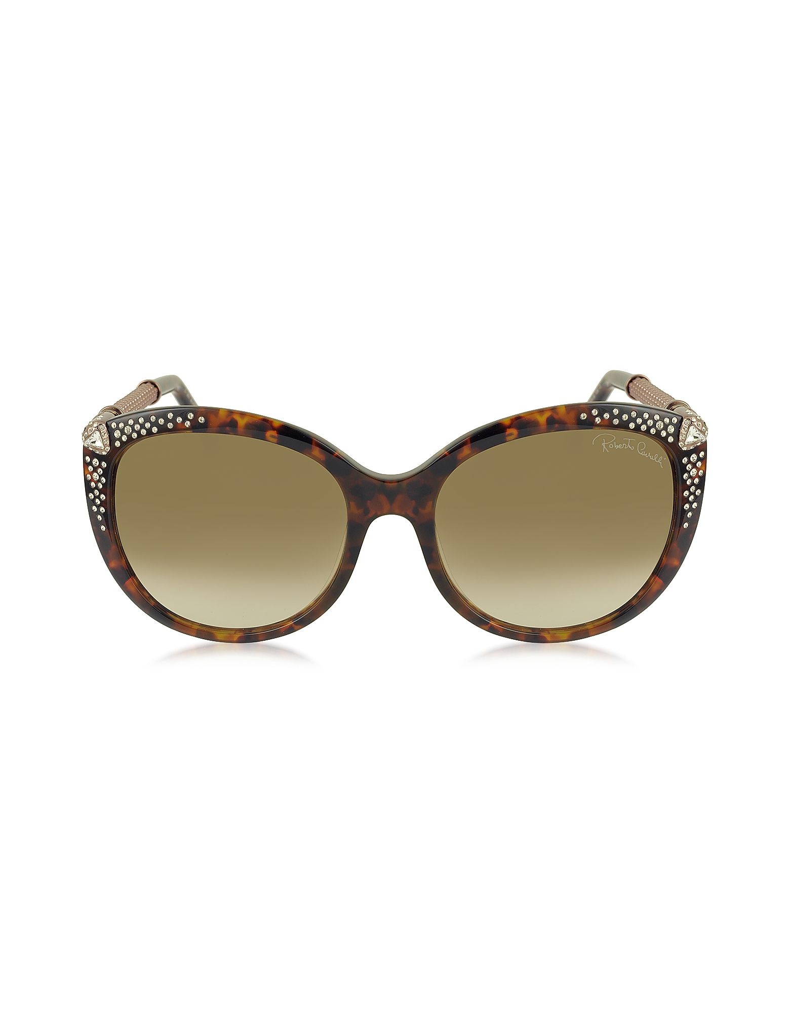 Roberto Cavalli Sunglasses, TANIA 979S Acetate and Crystals Women's Sunglasses