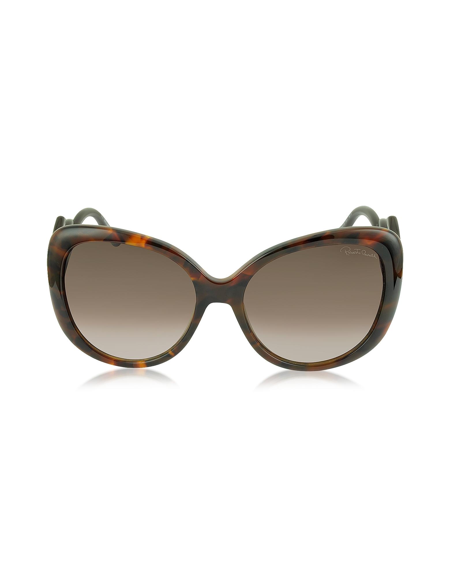 Roberto Cavalli Designer Sunglasses, Mintaka 911S 52F Havana Acetate Women's Sunglasses