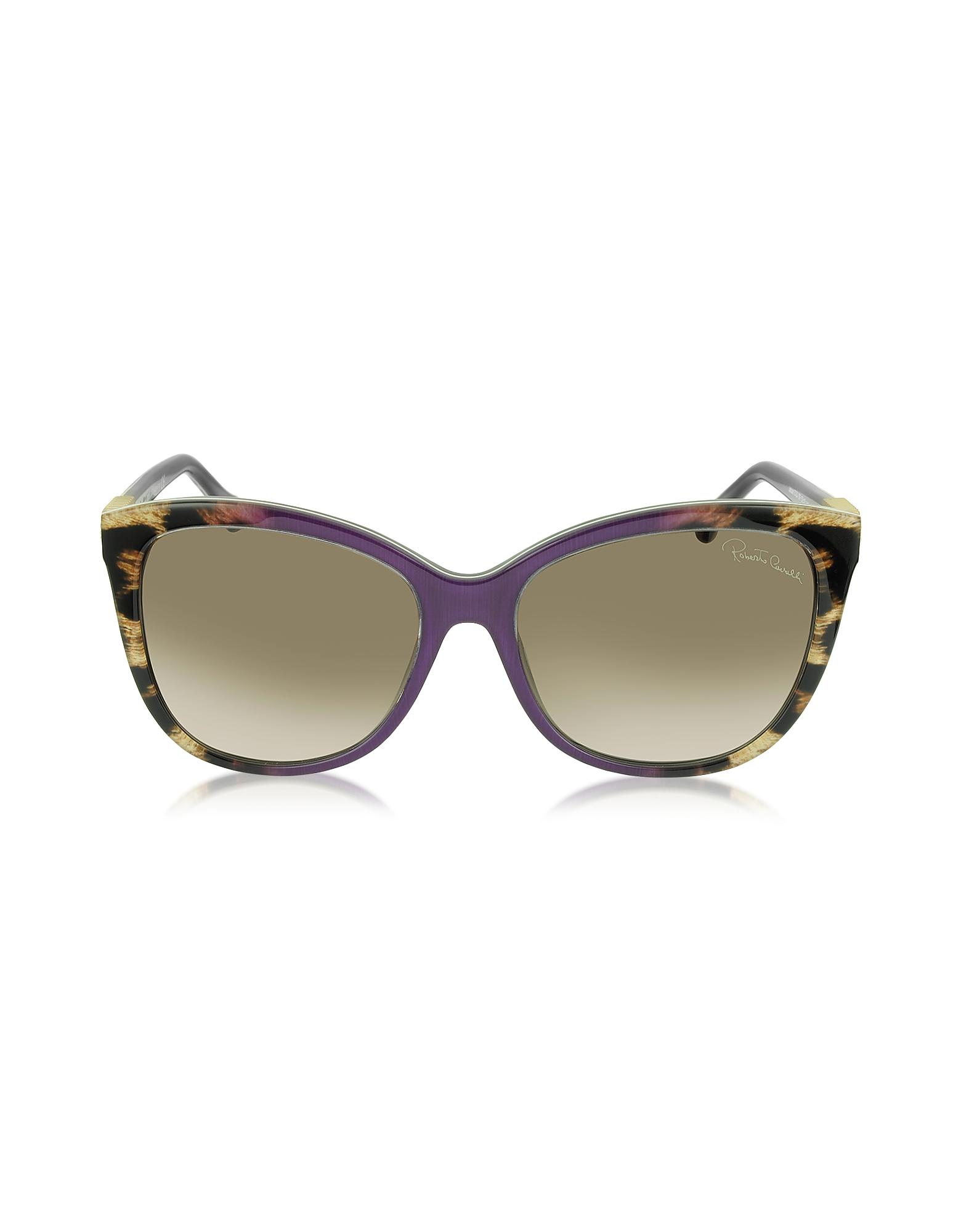 Фото Jabbah 872S - Женские Солнечные Очки в Ацетатной Оправе Кошачий Глаз с Леопардовым Принтом. Купить с доставкой