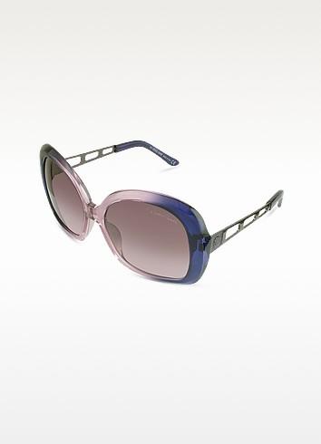 Magnolia - Logo Round Sunglasses - Roberto Cavalli