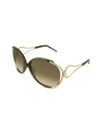 Roberto Cavalli Narciso - Logo Open Lens Sunglasses
