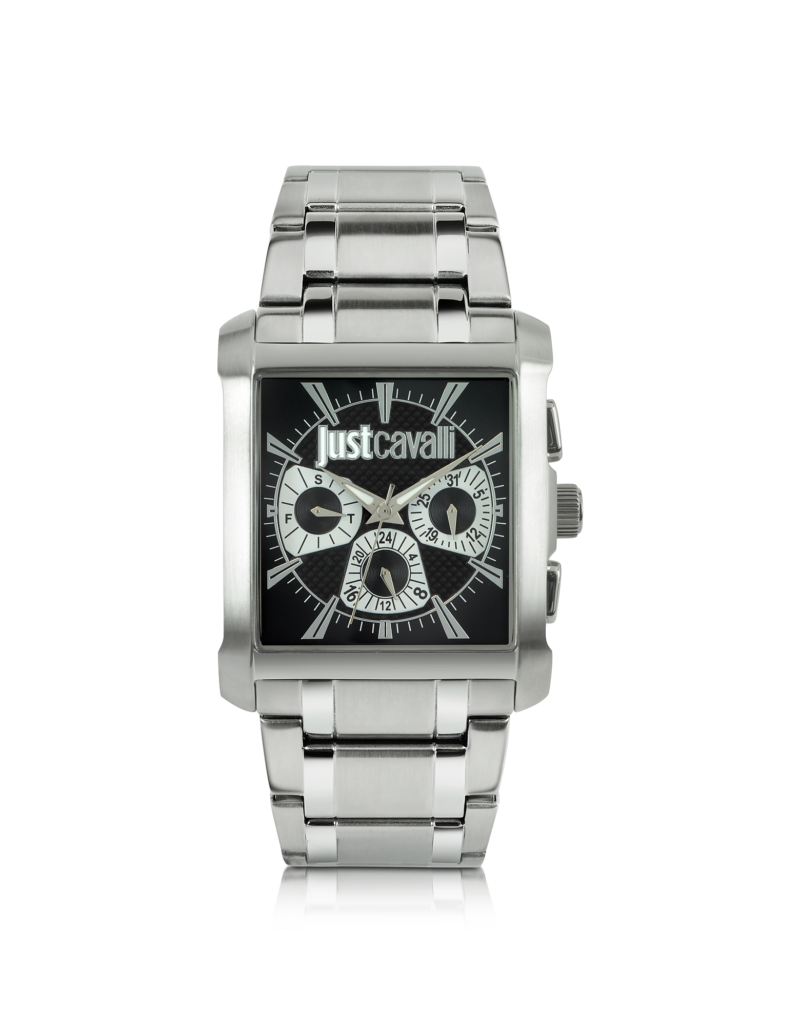 Just Cavalli Men's Watches, Rude Collection Stainless Steel Watch