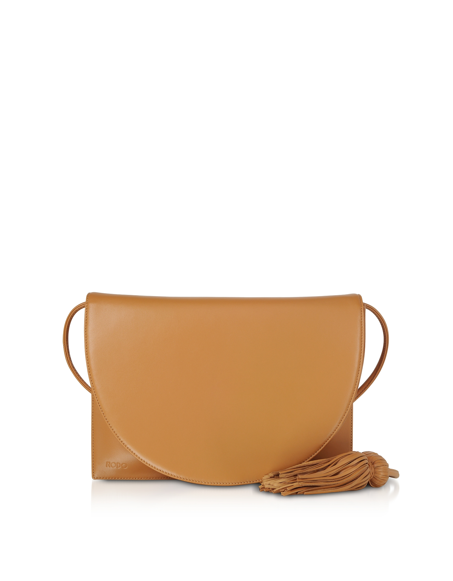 Brown Nappa Leather Shoulder Bag
