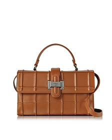 Brown Nappa Leather Lunch Bag - Rodo