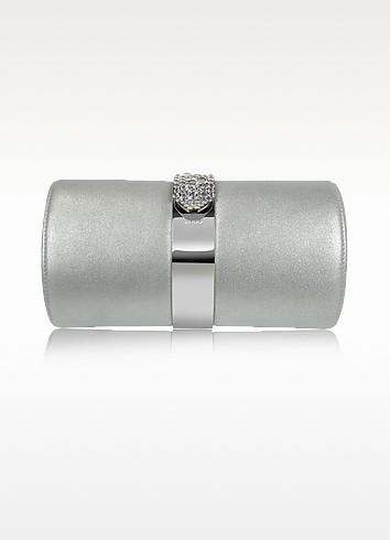 Leather and Swarovski Crystal Evening Clutch - Rodo