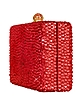 Red Crystal Evening Clutch - Rodo