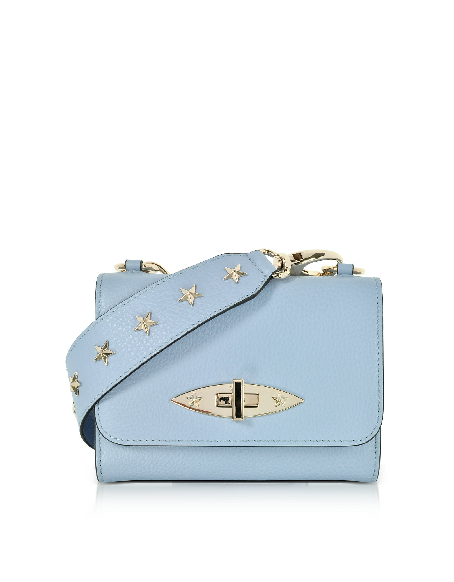 RED Valentino Handbags, Leather Shoulder Bag w/Stars