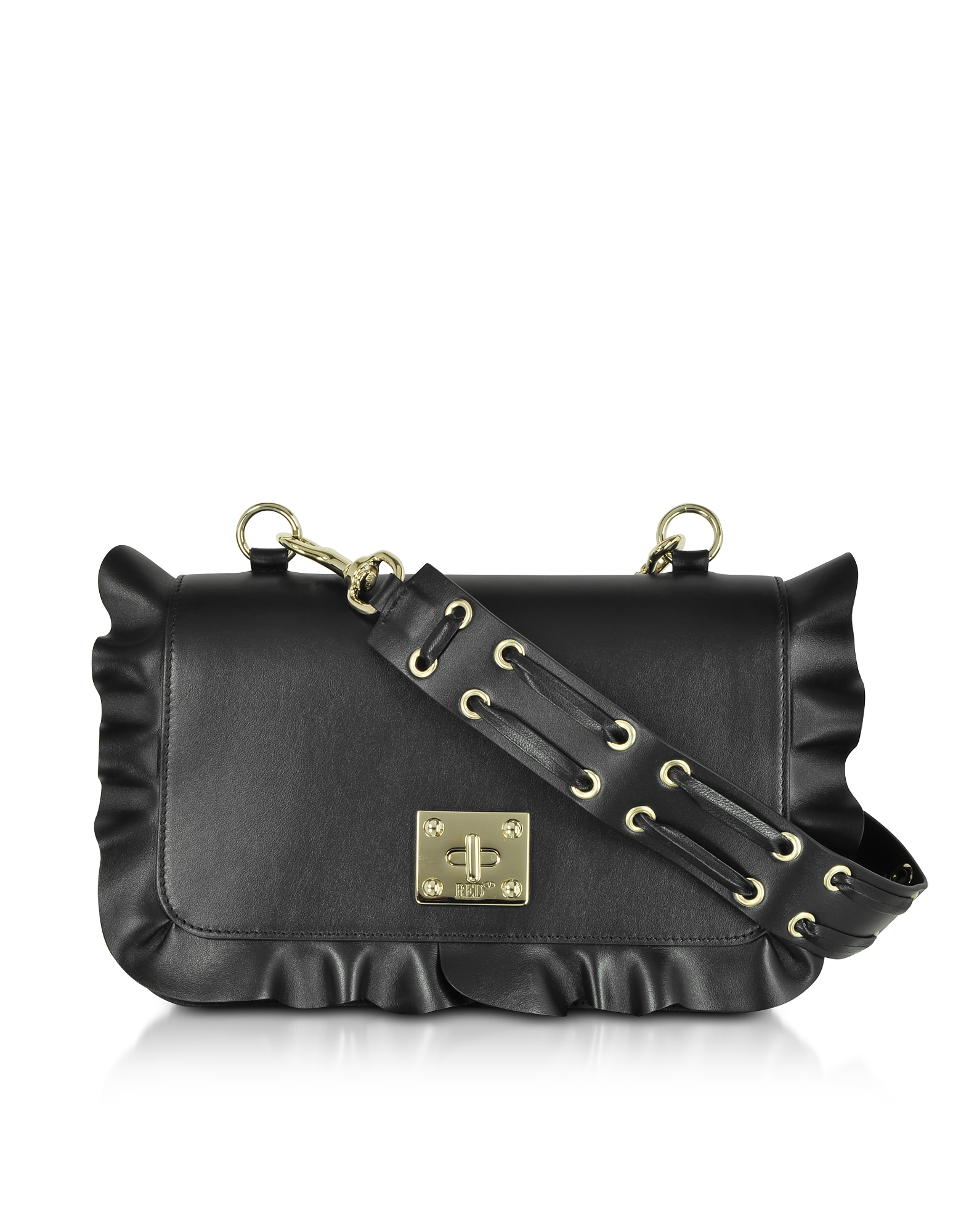 RED Valentino Handbags, Rock Ruffles Shoulder Bag