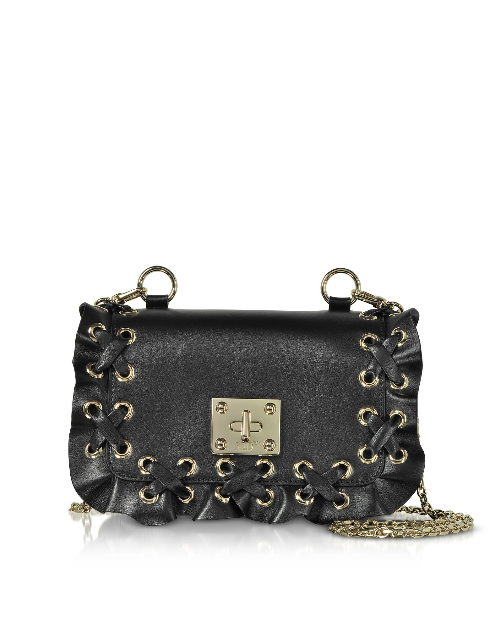 RED Valentino Handbags, Rock Ruffles Small Shoulder Bag