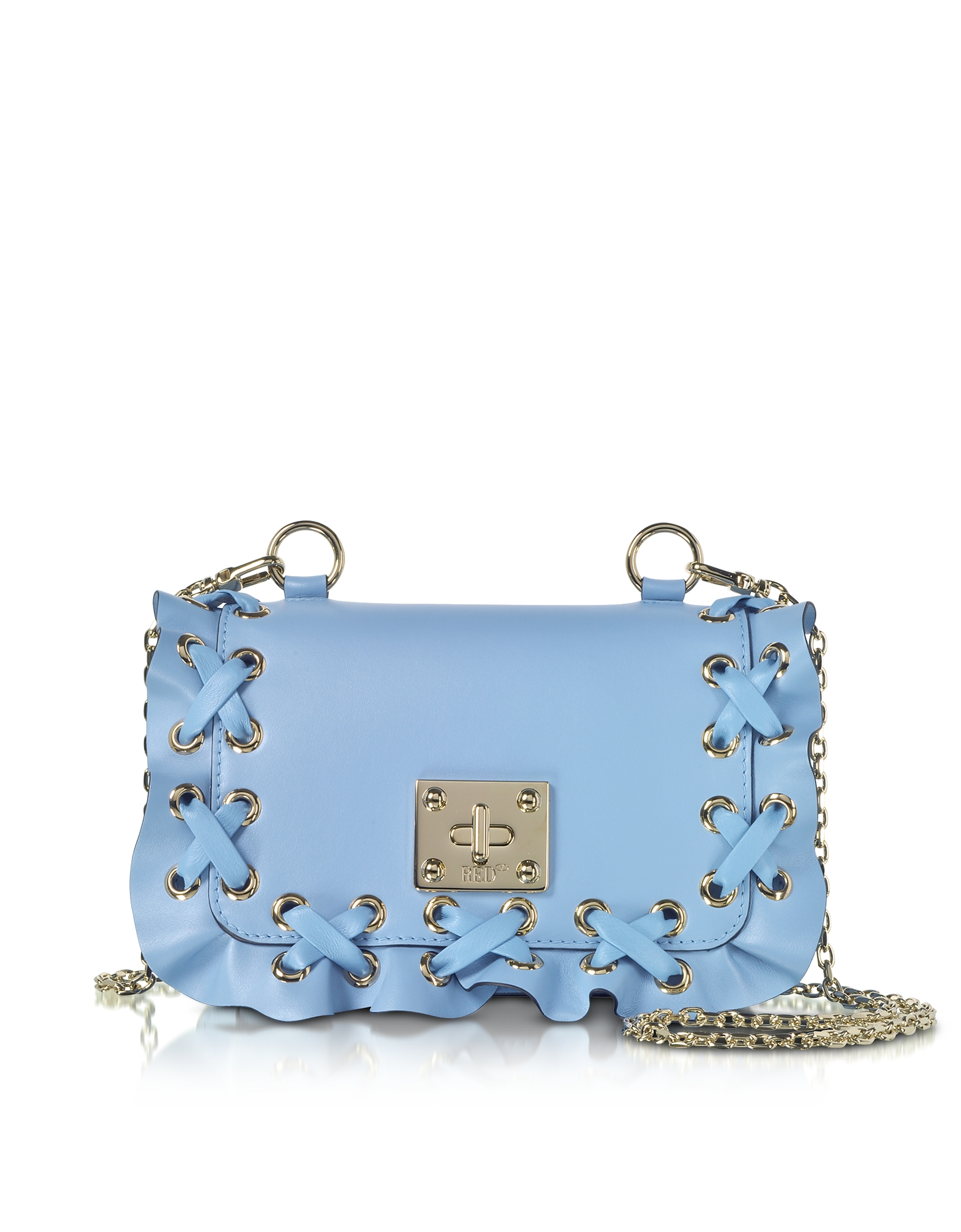 RED Valentino Handbags, Rock Ruffles Small Shoulder Bag