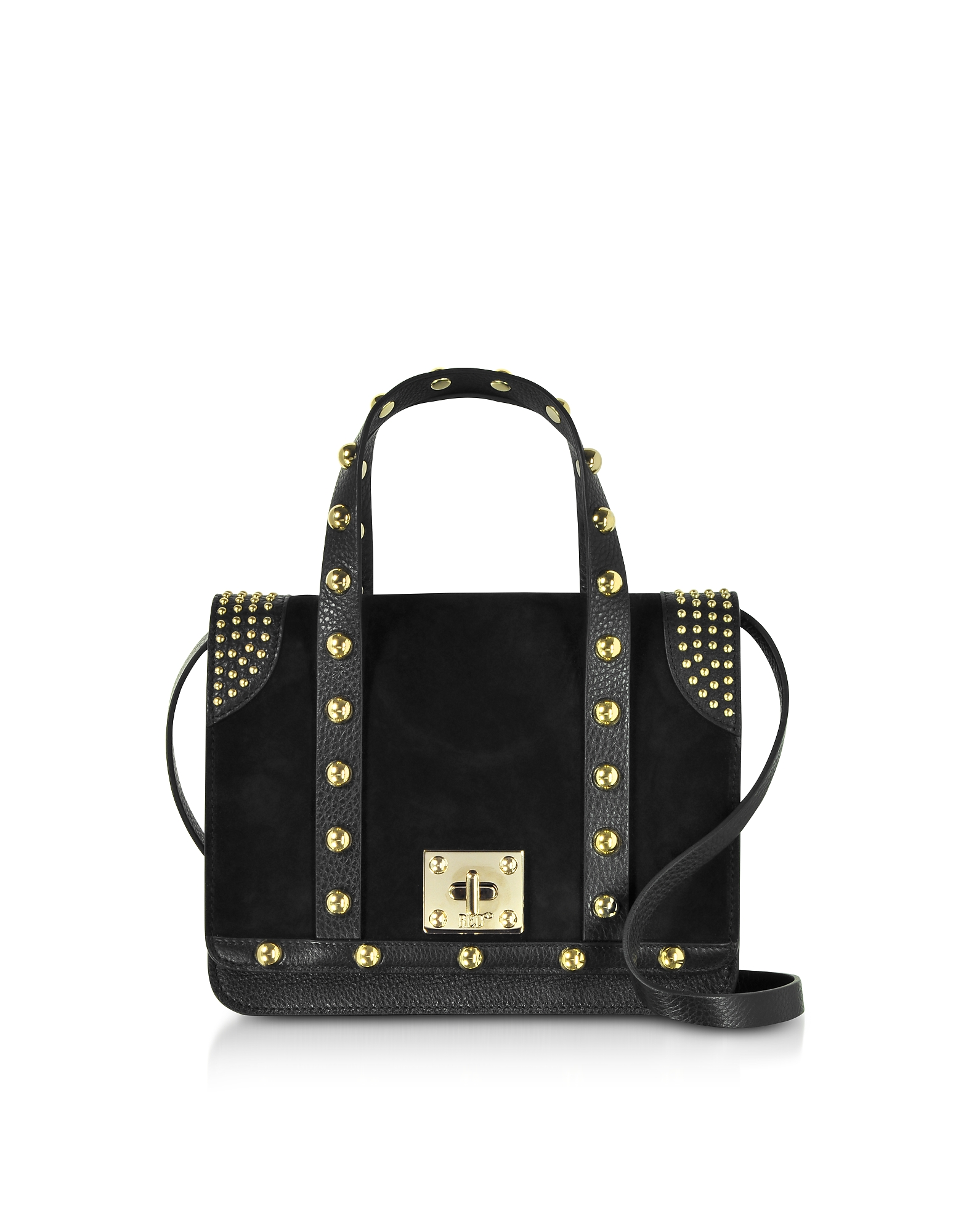 RED Valentino Handbags, Black Shuffle Bag