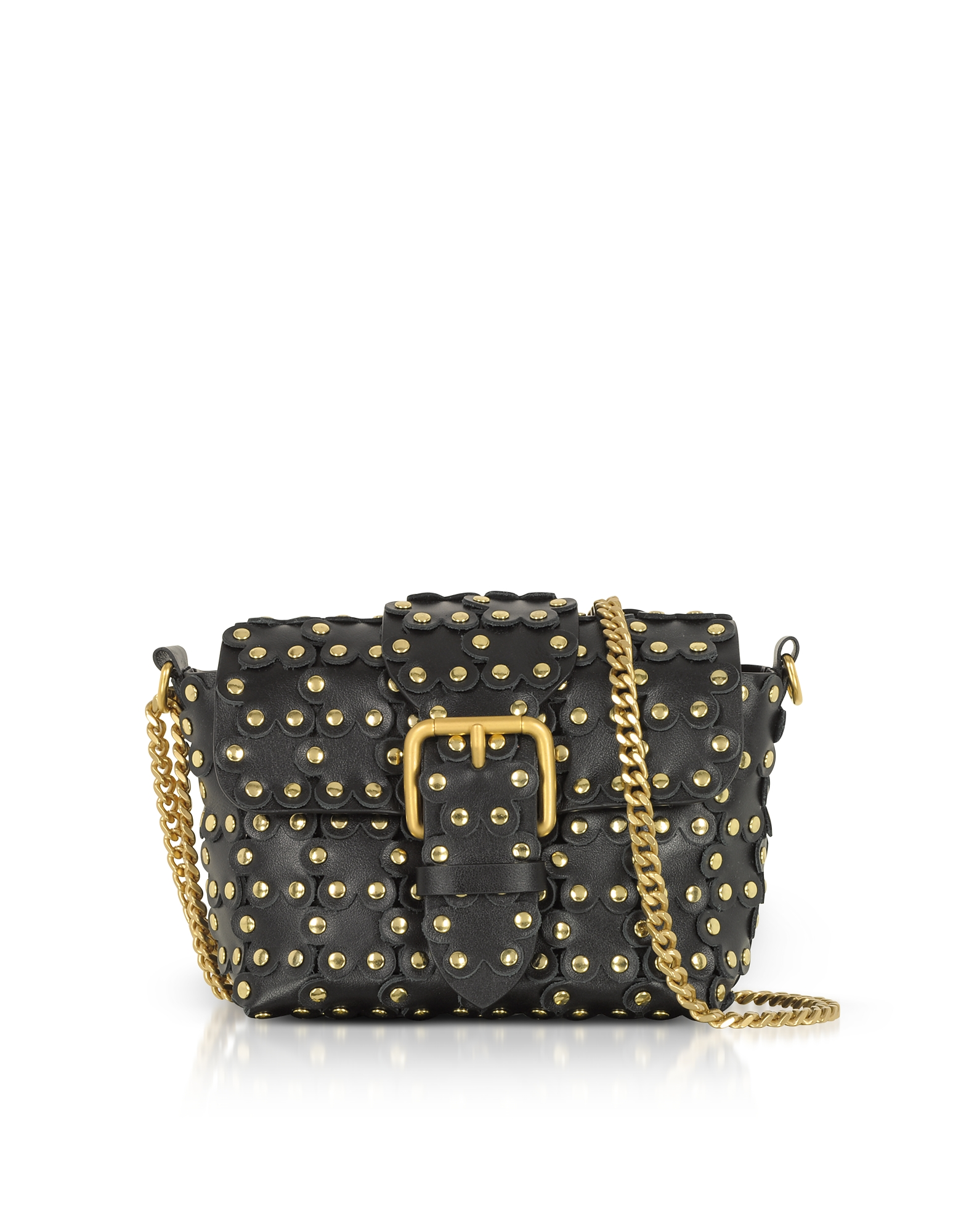 PUZZLE FLOWER CHAIN SHOULDER BAG from FORZIERI