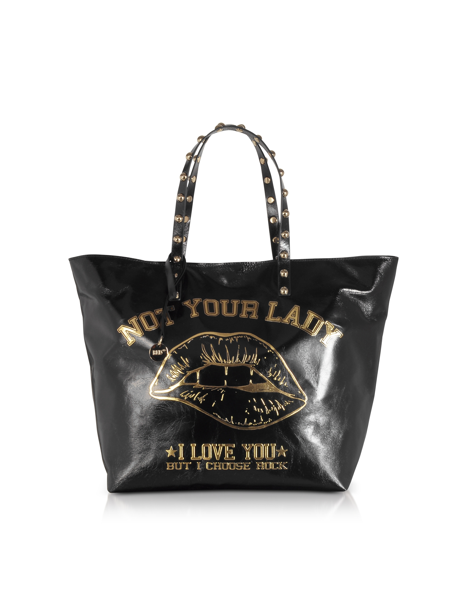 Not Your Lady Black Tote Bag