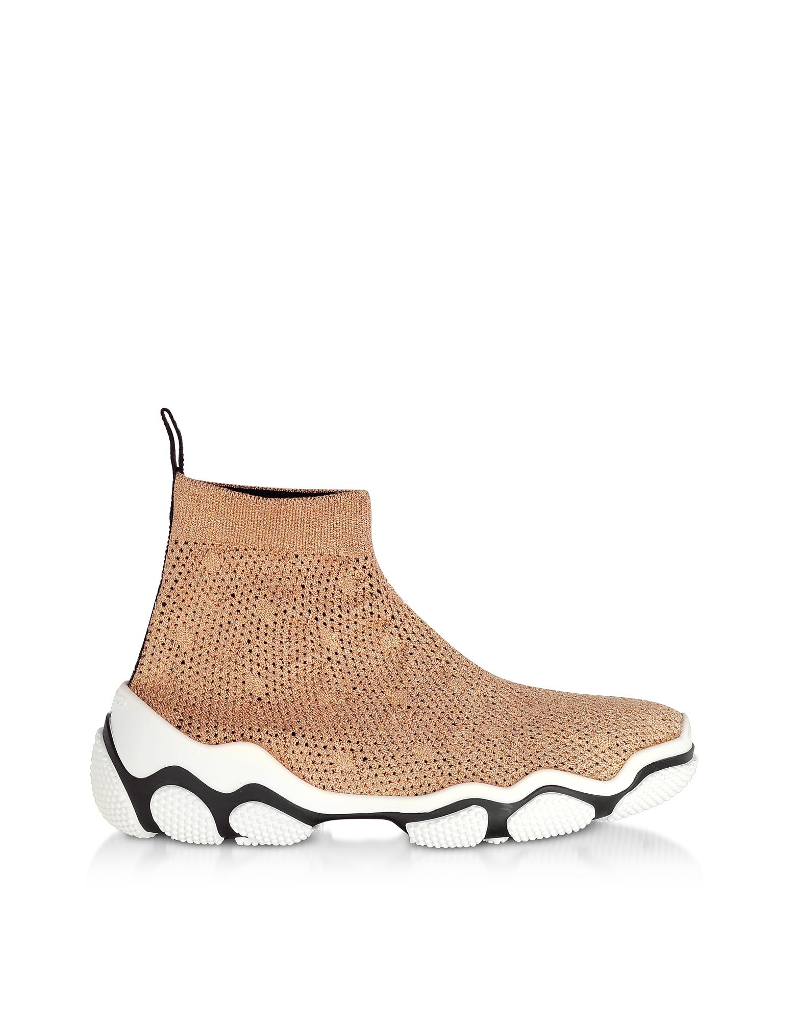 Light Nude Glam Run Sneakers