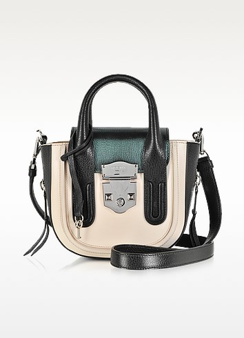 Lou Leather Crossbody Satchel - Rochas