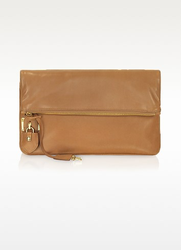 Large Leather Clutch - Rochas