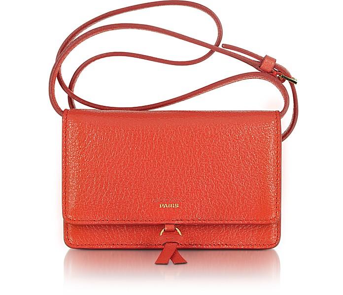 Severine - Small Leather Shoulder Bag - Rochas