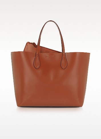 Leather Tote Bag - Rochas