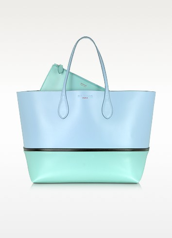 Tri Color Leather Tote - Rochas