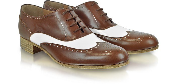 Two-Tone Wingtip Oxford - Fratelli Rossetti