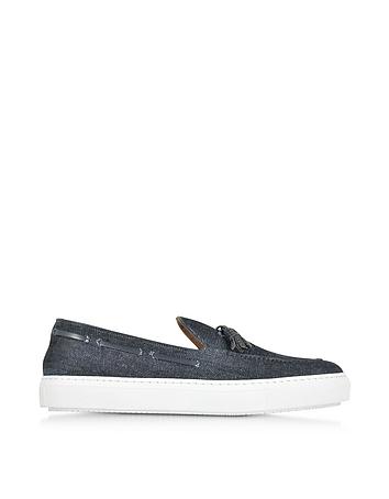 Denim Slip On Sneaker