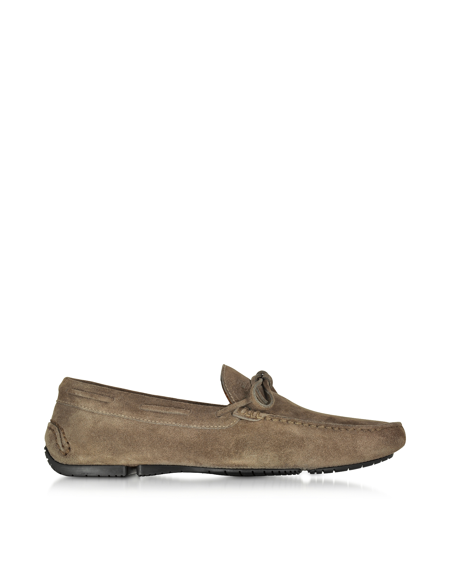 Fratelli Rossetti Shoes, Fango Suede Mocassino Shoe