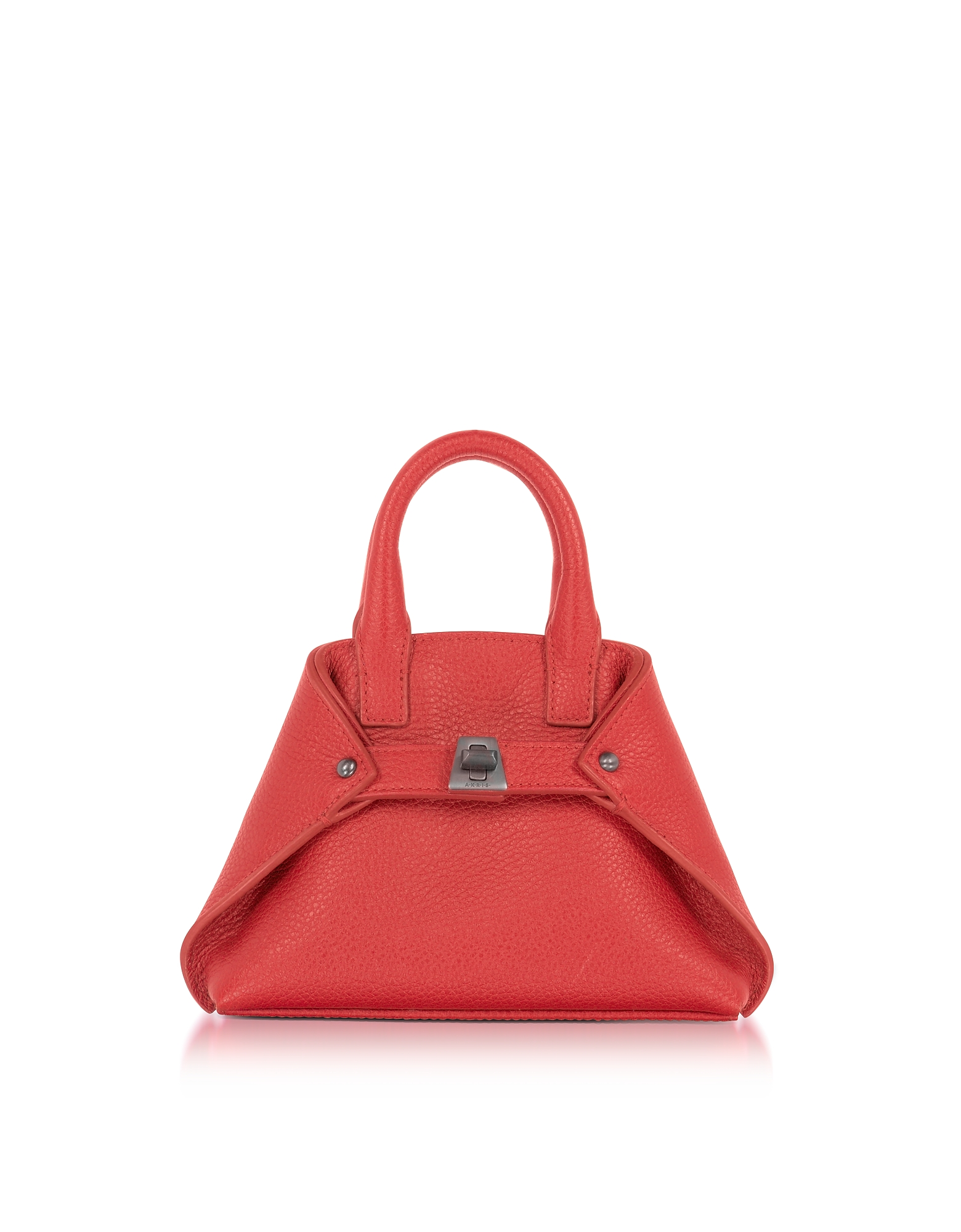 Akris Handbags, Love Leather Micro Ai Crossbody Bag