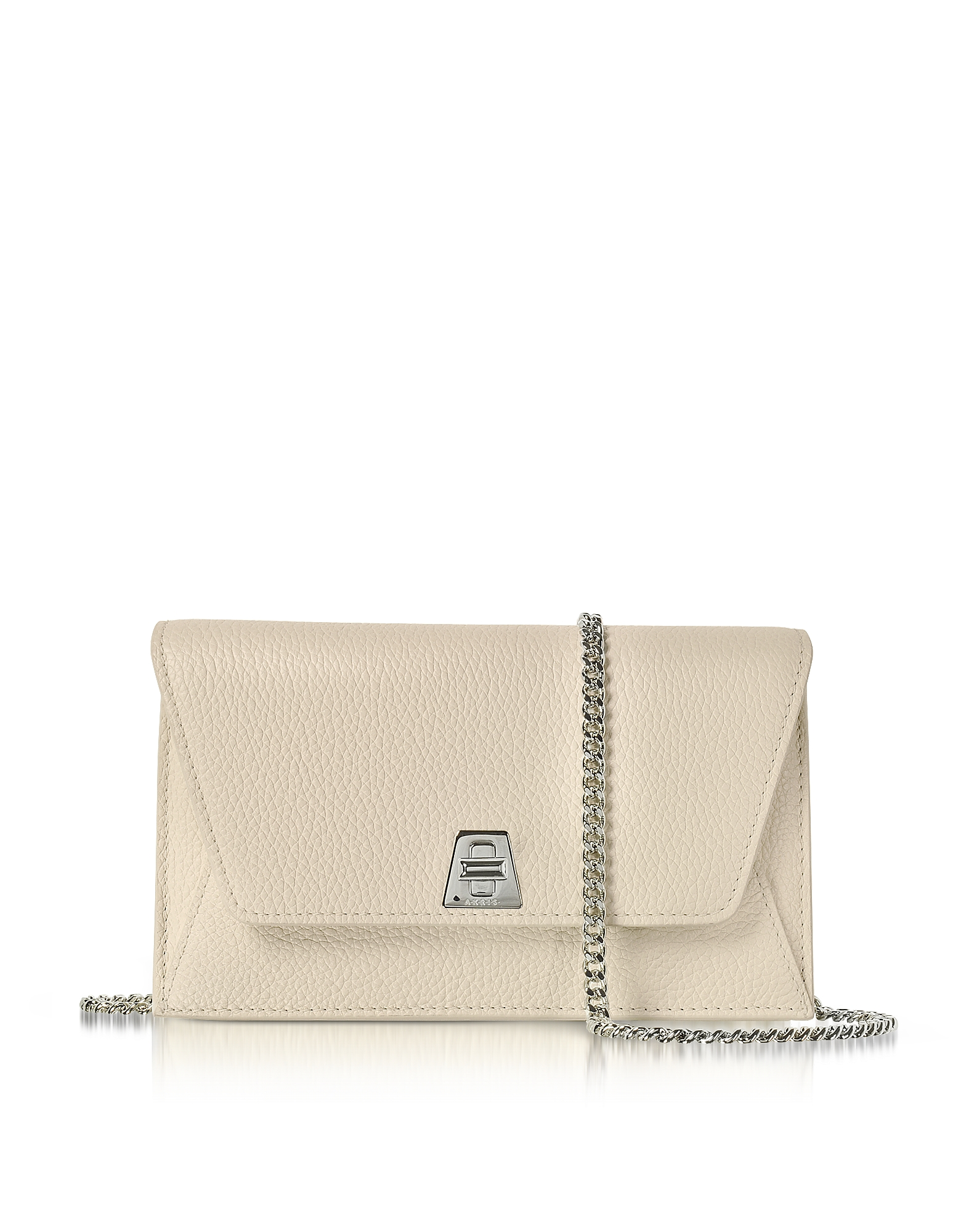 Akris Handbags, Stucco Leather Anouk Mini Envelope Bag