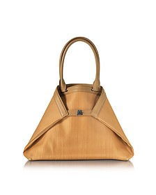 Ai Small Camel Horsehair Tote Bag - Akris
