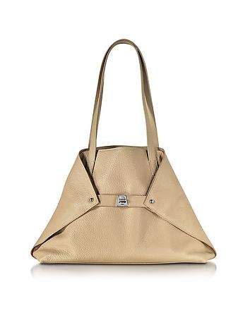 Ai Small Cordage Leather Tote Bag