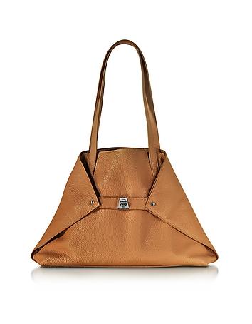 Ai Small Cuoio Leather Tote Bag