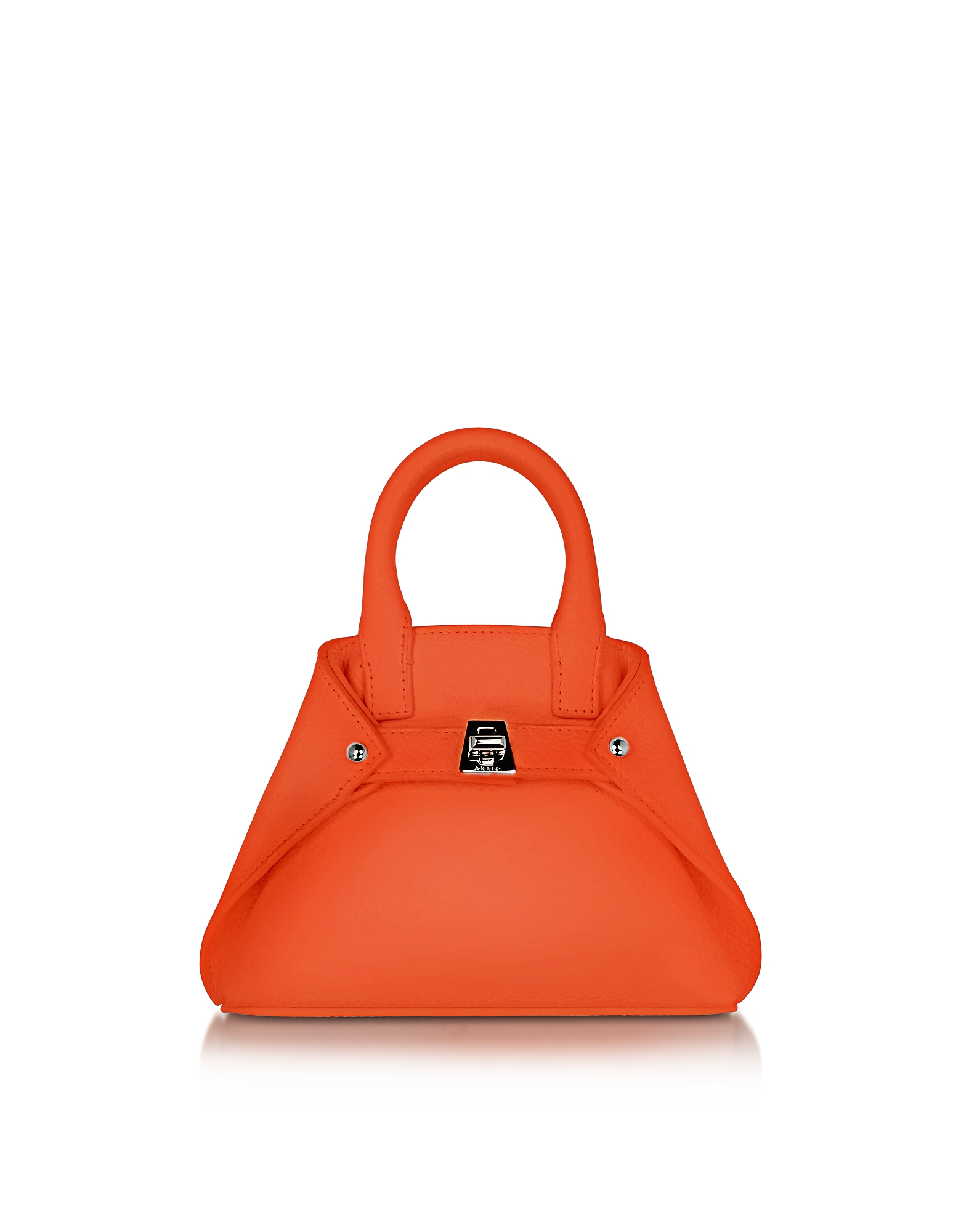 Akris Handbags, Zinnia Leather Micro Ai Crossbody Bag