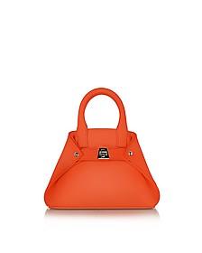 Zinnia Leather Micro Ai Crossbody Bag - Akris
