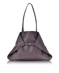 Blackberry Cervocalf Ai Medium Shoulder Bag - Akris