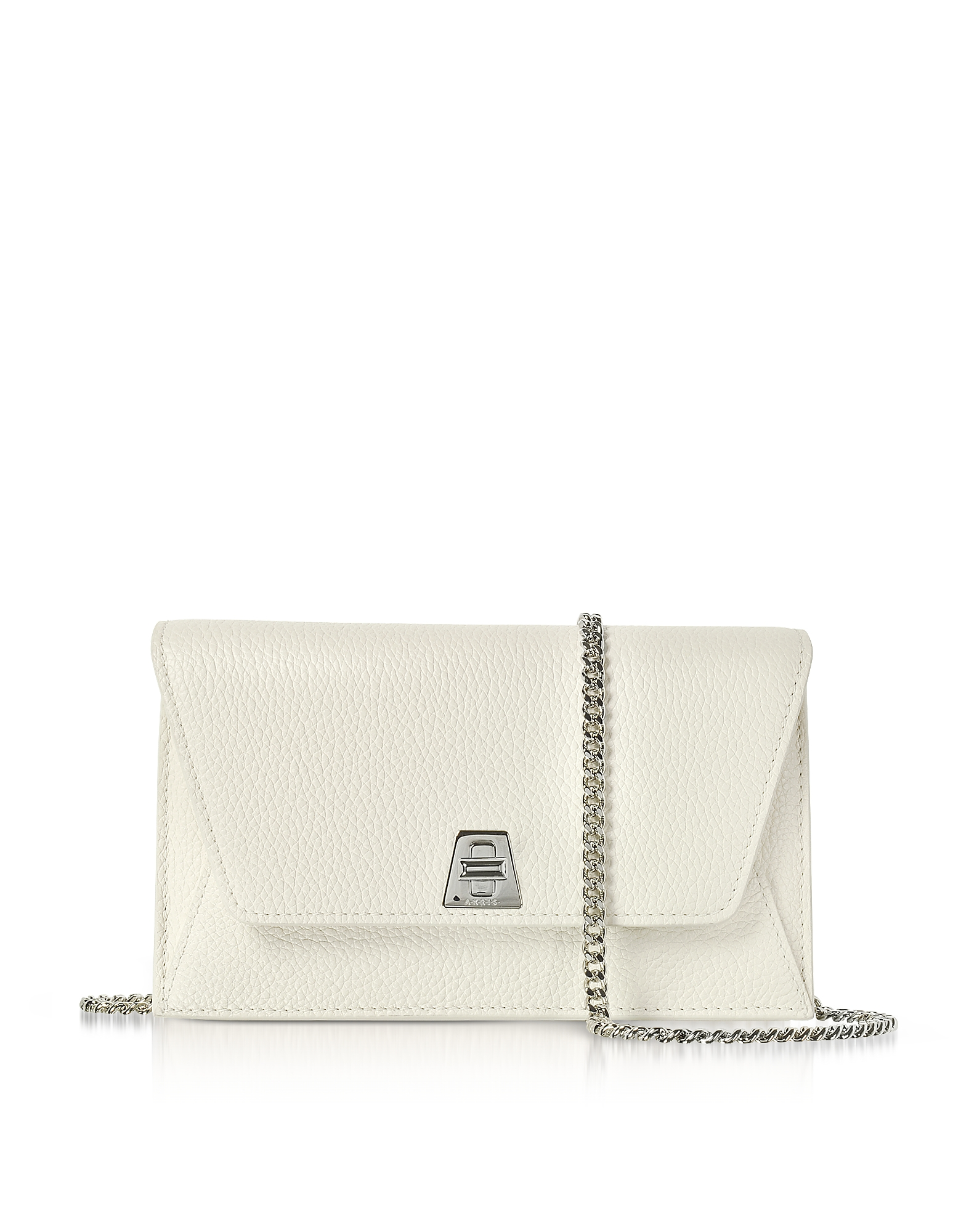 Ecru Cervocalf Anouk Mini Envelope Bag