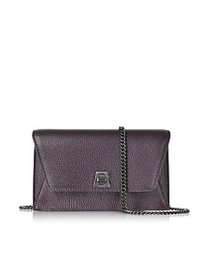 Blackberry Cervocalf Anouk Mini Envelope Bag - Akris