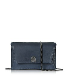 Denim Blue Anouk Mini Envelope Bag - Akris