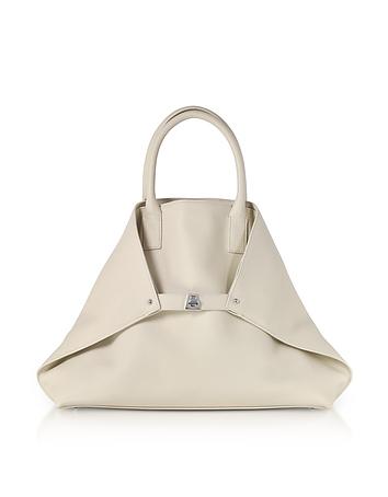 Akris - Stucco Cervocalf Ai Medium Messenger Bag