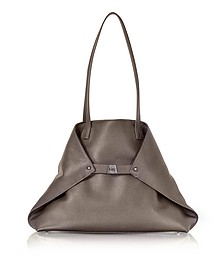 Taiga Cervocalf Ai Medium Shoulder Bag - Akris