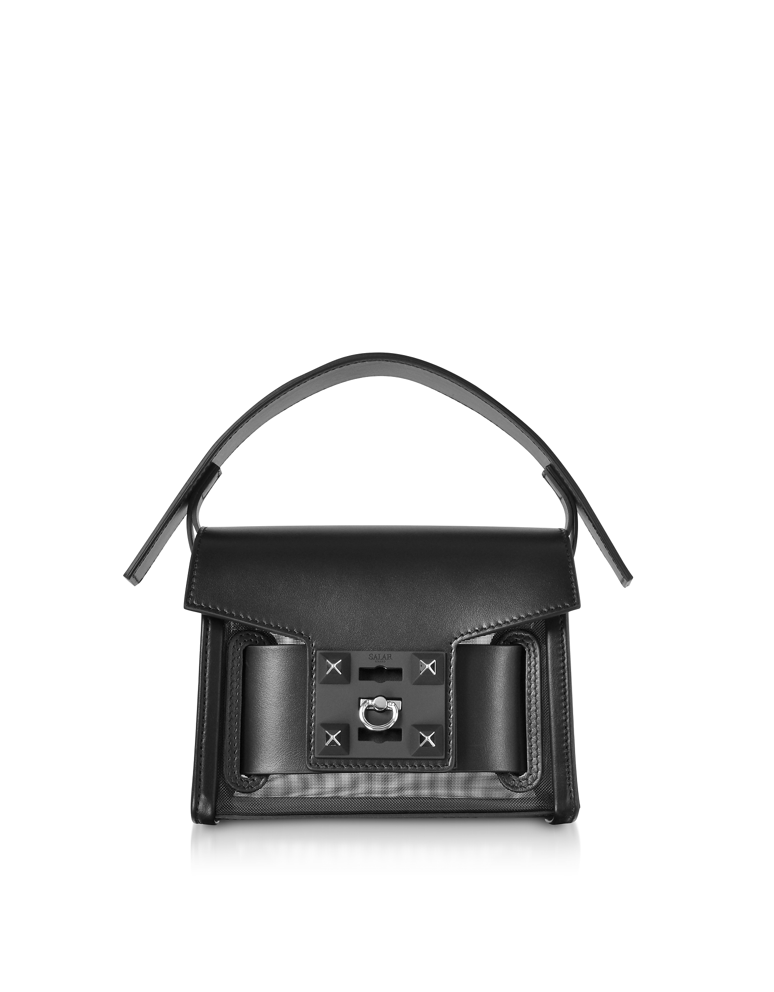 Salar Handbags, Gaia Mesh Mini Crossbody Bag